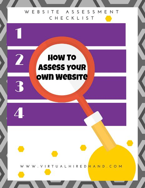 How To Assess Your Own Website