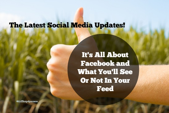 It's All About Facebook And What You'll See Or Not In Your Feed