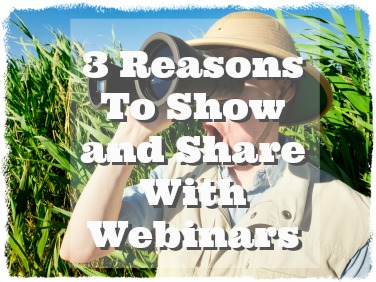 If you haven't added webinars to your marketing strategy, you are missing out on a huge opportunity to expand your reach. Webinars allow you to show and share a product, service, information, or provide training.