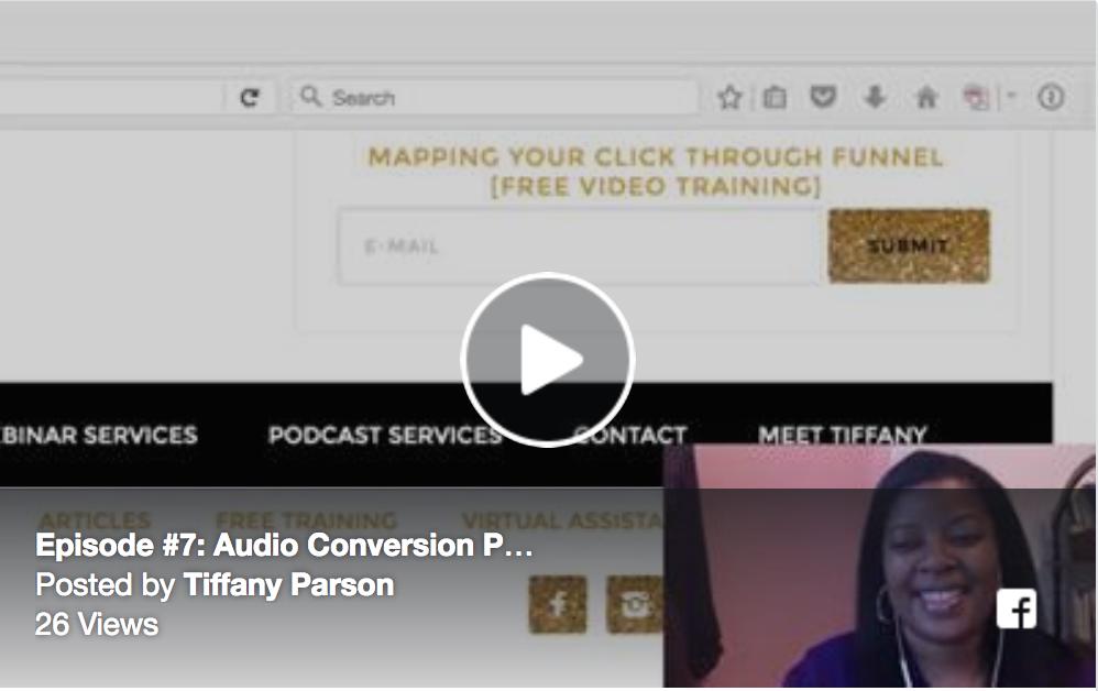 Audio Conversion Part II